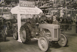 200,000th tractor made by the Standard Motor Company for Harry Ferguson Ltd